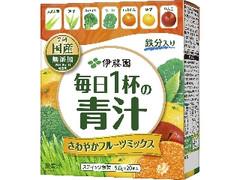 伊藤園 毎日1杯の青汁 さわやかフルーツミックス 箱5g×20