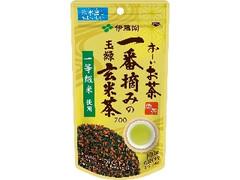 伊藤園 お~いお茶 一番摘みの玉緑玄米茶700 袋100g