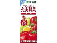伊藤園 充実野菜 トマトミックス パック200ml