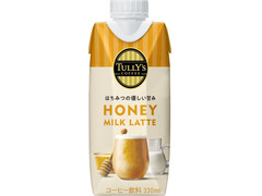 タリーズコーヒー HONEY MILK LATTE