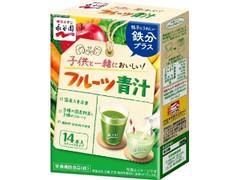 永谷園 子供と一緒においしい! フルーツ青汁 箱5.2g×14