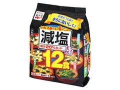 永谷園 みそ汁太郎 減塩6メニュー12食 袋150.2g