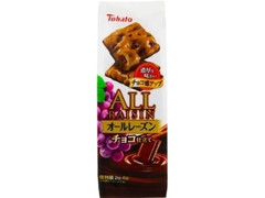 東ハト オールレーズン チョコ仕立て 袋2枚×6