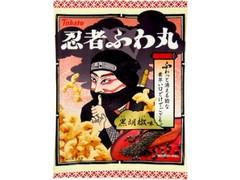 東ハト 忍者ふわ丸 黒胡椒味 袋65g