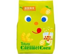 東ハト キャラメルコーン レモンスカッシュ味 袋77g