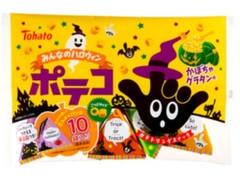 東ハト みんなのハロウィンポテコ かぼちゃグラタン味 袋70g