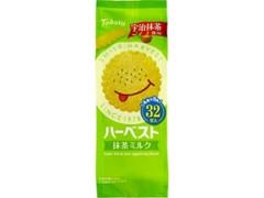 東ハト ハーベスト 抹茶ミルク 袋4枚×8