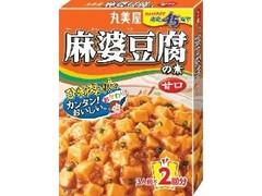 丸美屋 麻婆豆腐の素 甘口 箱162g