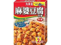丸美屋 麻婆豆腐の素 中辛 箱162g