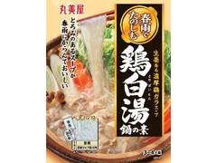丸美屋 春雨でたのしむ 鶏白湯鍋の素 袋250g