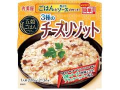 丸美屋 五穀ごはん 3種のチーズリゾット カップ220g