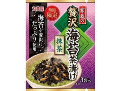丸美屋 家族の贅沢海苔茶漬け 抹茶
