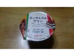 メイトー ティラミス風プリン ビターコーヒーソース カップ105g