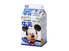 メイトー 無調整牛乳 ディズニーパッケージ パック500ml