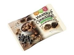 森永製菓 ヘルシースナッキング アーモンドと黒大豆のビターチョコ 袋30g