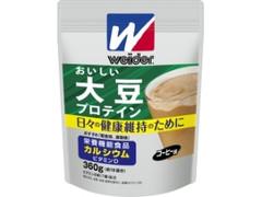 森永製菓 ウイダー おいしい大豆プロテイン コーヒー味 袋360g