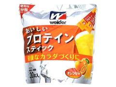 森永 ウイダー おいしいプロテインスティック オレンジ味 袋10本×30