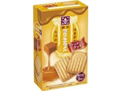 森永製菓 ミルクキャラメル クリームサンドクッキー 箱8枚
