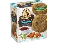 森永製菓 ステラおばさんの紅茶とアーモンドクッキー 箱4枚