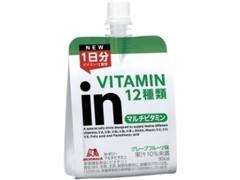 森永製菓 inゼリー マルチビタミン 180g
