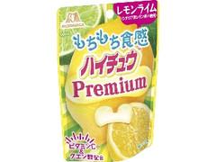 森永製菓 ハイチュウプレミアム レモンライム 袋35g