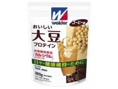 ウイダー おいしい大豆プロテイン コーヒー味 袋360g