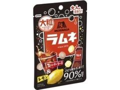 森永製菓 大粒ラムネ スーパーコーラ&レモン 袋38g