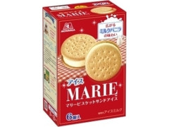 森永製菓 マリービスケットサンドアイス 箱35ml×6