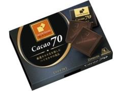 森永製菓 カレ・ド・ショコラ カカオ70 箱21枚