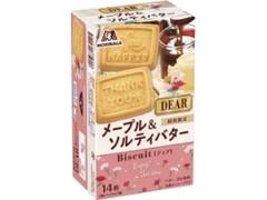 森永製菓 ディア メープル&ソルティバター 箱14枚