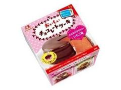 森永 電子レンジでかんたん おいしいチョコレートケーキ ふんわりかわいいいちご味 箱133g