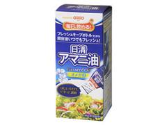 日清 アマニ油 フレッシュキープボトル 箱145g