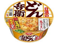 日清のどん兵衛 かき揚げ天ぷらうどん カップ97g