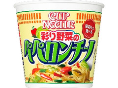 日清 カップヌードル パスタスタイル 彩り野菜のペペロンチーノ カップ90g
