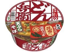 日清食品 日清のどん兵衛 食べ比べ 天ぷらそば 西 カップ100g