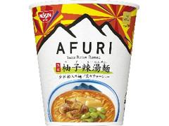 日清食品 THE NOODLE TOKYO AFURI 限定柚子辣湯麺 カップ94g