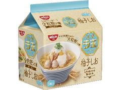 日清食品 ラ王 柚子しお 5食パック 袋465g