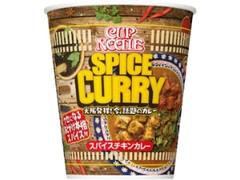 日清食品 カップヌードル スパイスチキンカレー カップ82g