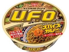 日清食品 日清焼そばU.F.O. スパイスキーマカレー焼そば カップ110g
