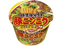 日清食品 日清デカうま 豚ニンニク味 カップ111g