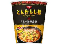 日清食品 日清のとんがらし麺 うま辛酸辣湯麺 カップ64g