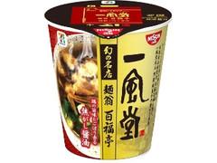 セブンプレミアム 一風堂 麺翁百福亭 焦がし醤油 カップ96g