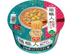 日清食品 日清麺職人 台湾麺線風鰹とろみそば カップ77g