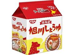 日清食品 日清北海道のラーメン屋さん 旭川しょうゆ 袋5食