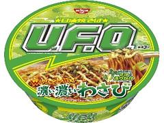 日清食品 日清焼そばU.F.O. 濃い濃いわさび カップ112g