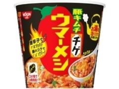 日清食品 日清ウマーメシ 豚キムチチゲ カップ100g