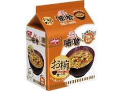 日清食品 お椀で食べるカップヌードル味噌 袋102g