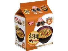 日清食品 お椀で食べるカップヌードル味噌