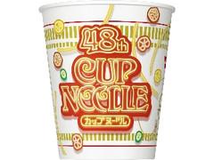 日清食品 カップヌードル 48周年バースデー記念パッケージ カップ77g