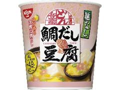 日清食品 日清麺なしどん兵衛 鯛だし豆腐スープ カップ11g